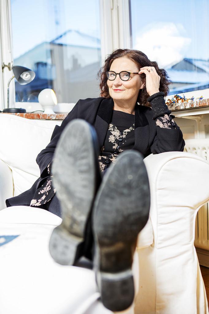 Årets kulturjournalist Ebba Witt Brattström foto: ellinor collin 0709-458196