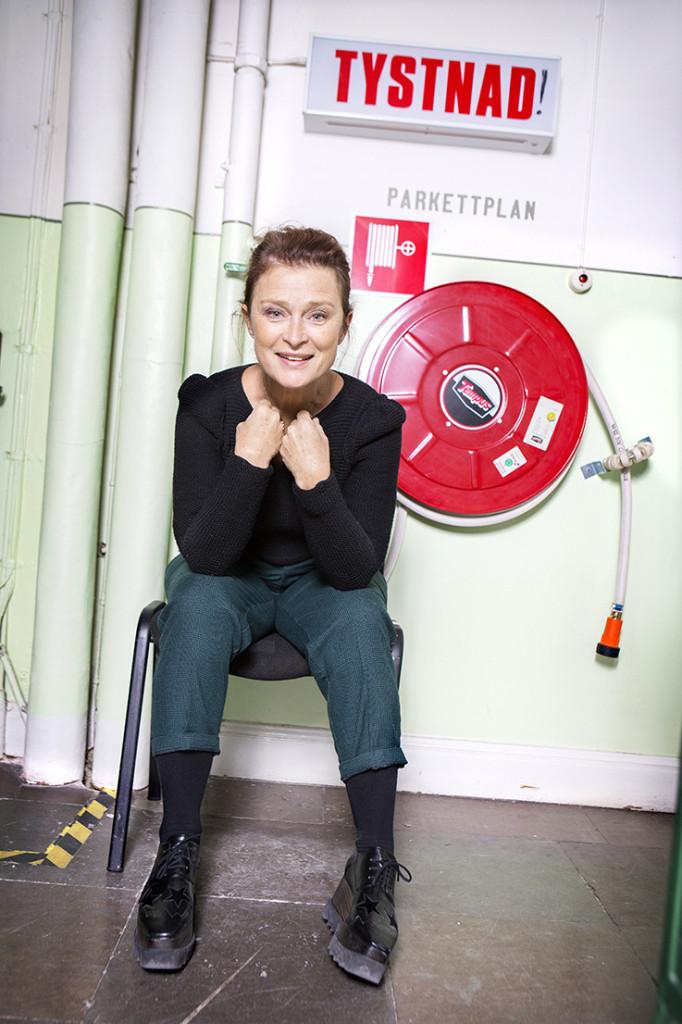 Årets teaterpristagare Lena Endre. foto: ellinor collin 0709-458196