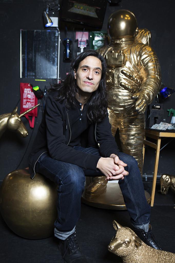 Jonas Hassan Kemiri, Expressens Teater/ kulturpristagare, foto: ellinor collin